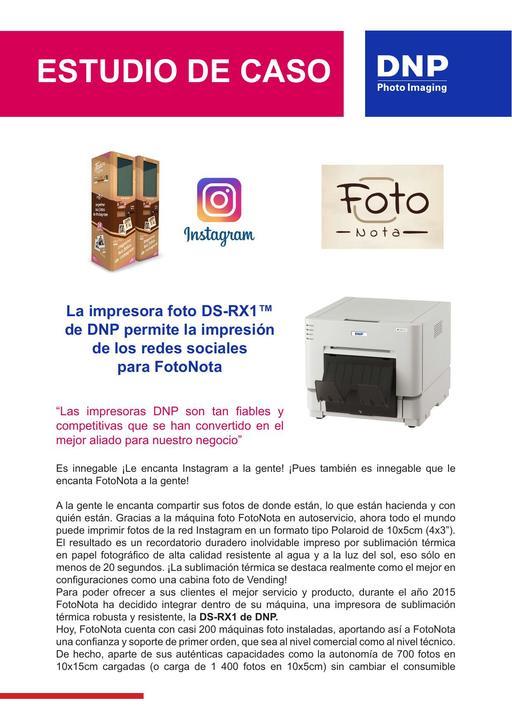FotoNota in Spain *RX1* ES