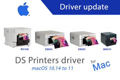DS printers driver update for Mac
